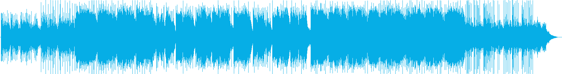 A sum of BGM characterized by lyrical shakuhachi's reproduced waveform