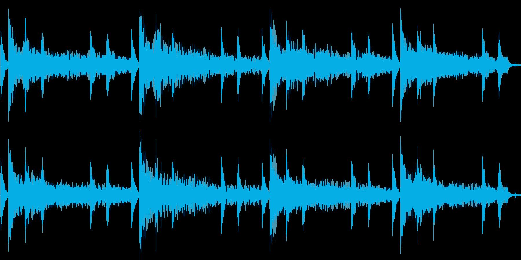 エレピをメインにしたバラード:ループ系の再生済みの波形