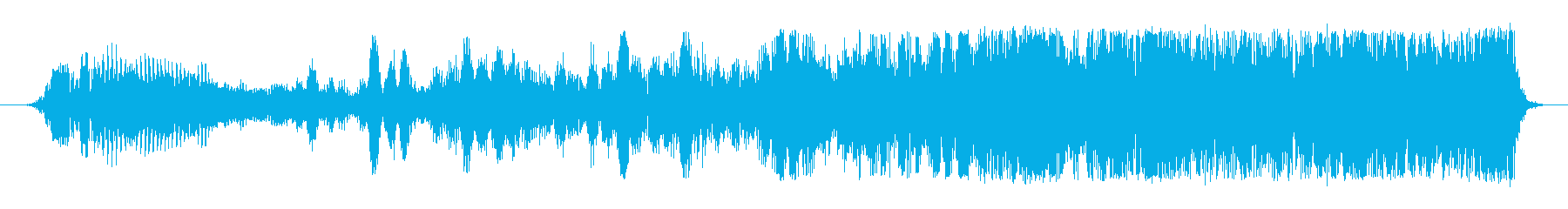 SWELL 位相揺れスウェル02の再生済みの波形