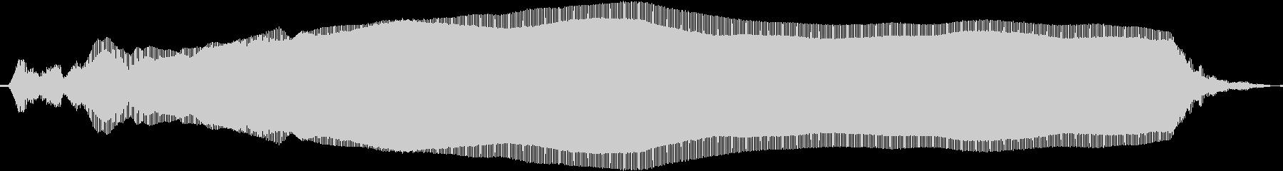 クラブDJが鳴らす定番のレゲエホーンの未再生の波形