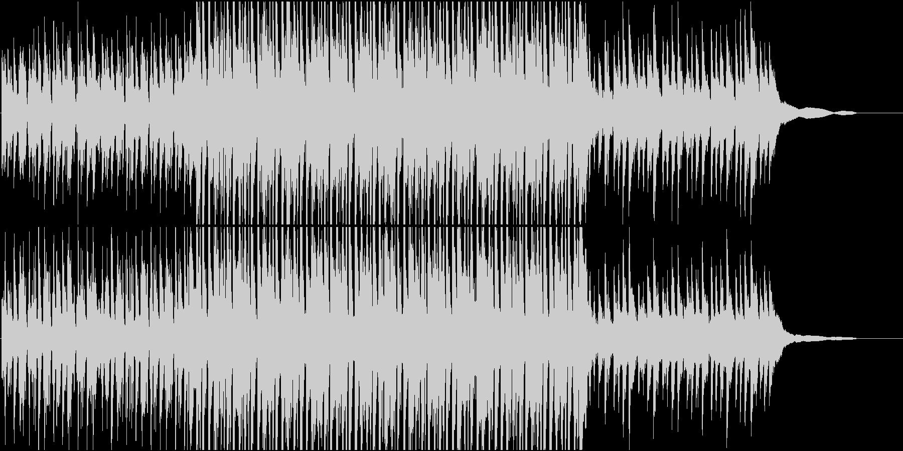 バーテンダー / ピアノハウス・ファンクの未再生の波形