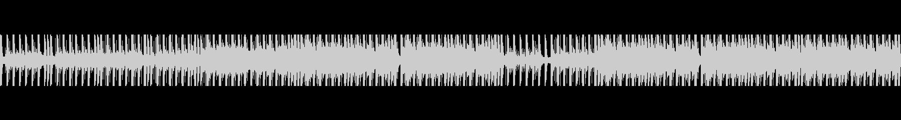 ループ、動画を邪魔しないシリアスEDMの未再生の波形