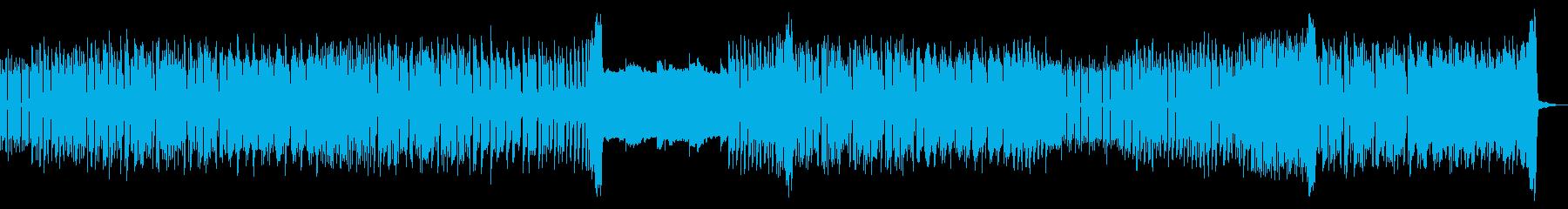 楽しいゲームによく合うピコピコサウンドの再生済みの波形
