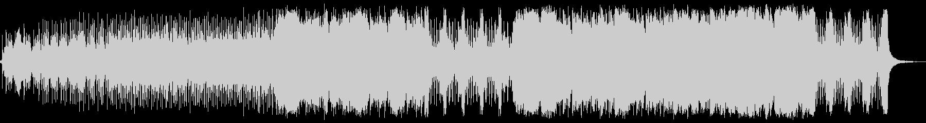 ジャングルのシーンBGMの未再生の波形