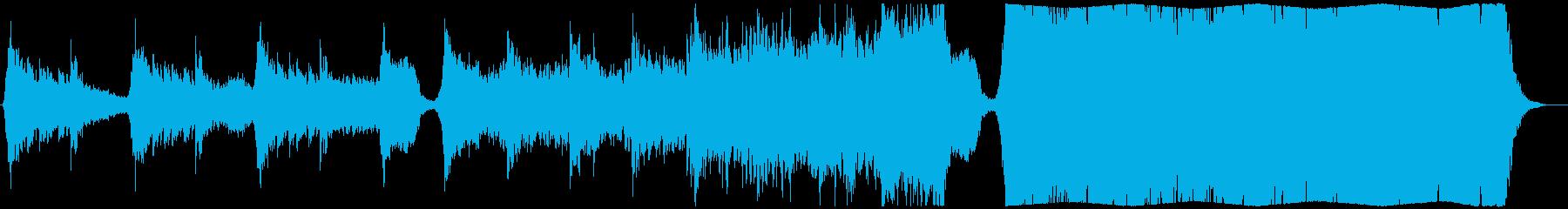 現代の交響曲 劇的な 神経質 厳S...の再生済みの波形