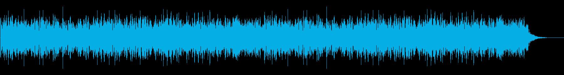 ジブリアニメ風_絵本_デンキウナギのお話の再生済みの波形