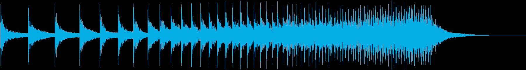 ティンパニ:ハードアクセラレーショ...の再生済みの波形