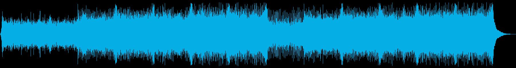企業VP系104、爽やかギター4つ打ちaの再生済みの波形