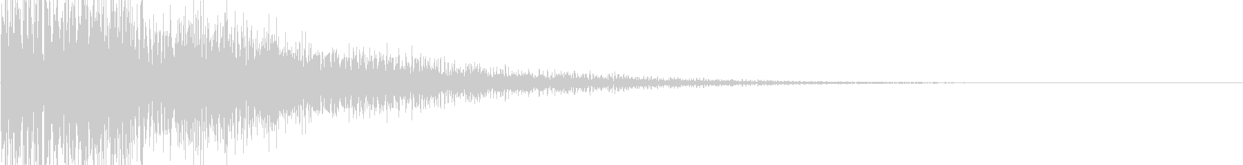 ビヨン ボヨンの未再生の波形
