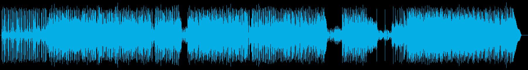 クールでグルーブ感あるエレキロックの再生済みの波形