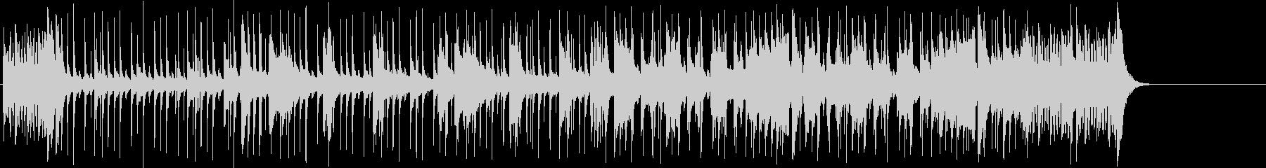 ファンキーなポップ/フュージョンの未再生の波形