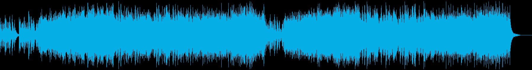 クラシカルなオーケストラの再生済みの波形