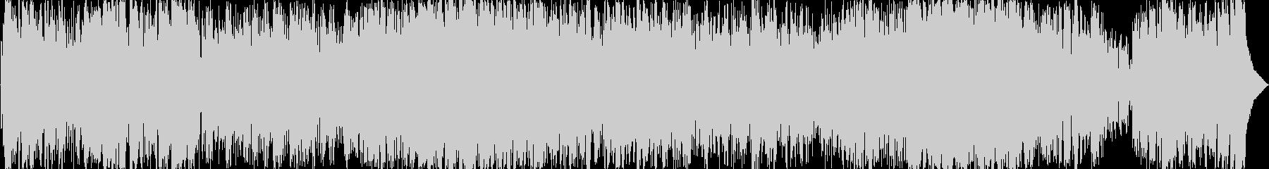 フルートが印象的なユーミン風ボサノバの未再生の波形