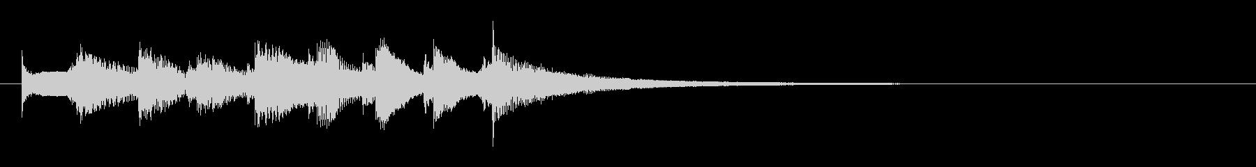 どうぶつ5 レアカード レベルアップの未再生の波形