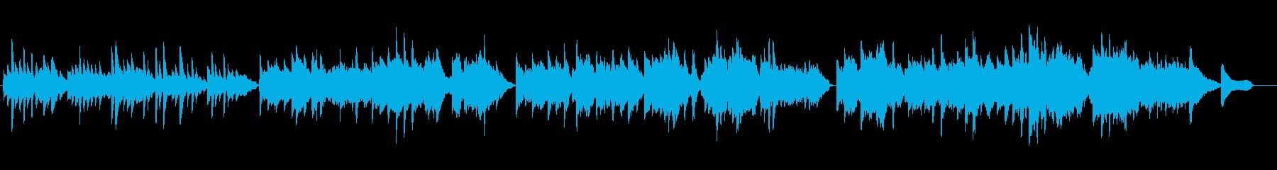 MESSAGE Pf+Vl+Flの再生済みの波形