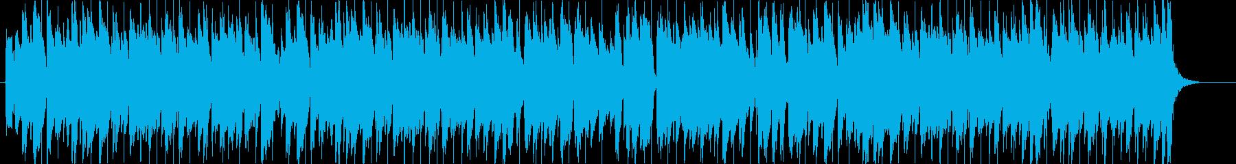 エレクトロニック アクション 感情...の再生済みの波形