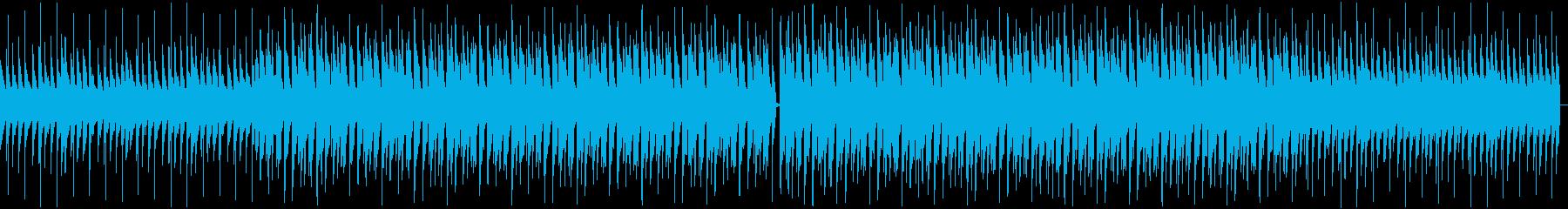 南国感のある優しいスロートロピカルの再生済みの波形
