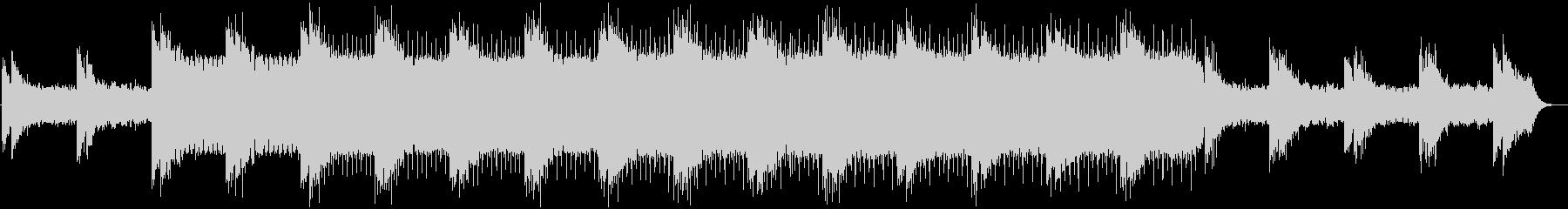 シンセ音が怪しい雰囲気を演出するBGMの未再生の波形