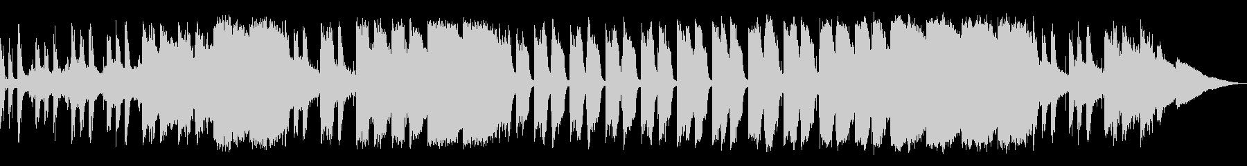 アンビエントなジブリ風サウンドの未再生の波形