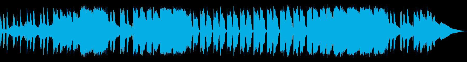 アンビエントなジブリ風サウンドの再生済みの波形