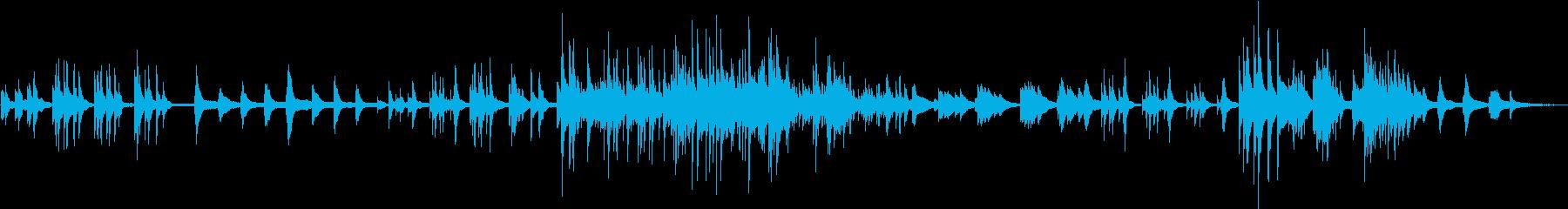 テンポの揺れる切ない感じのピアノソロの再生済みの波形