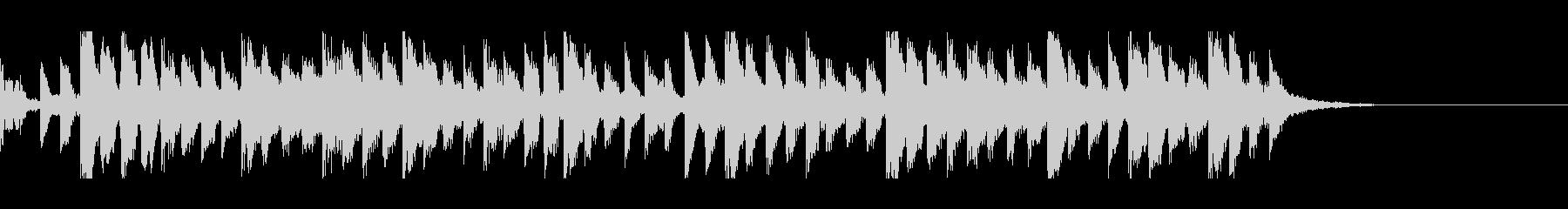 シンスウェーブなシンキングタイム音の未再生の波形