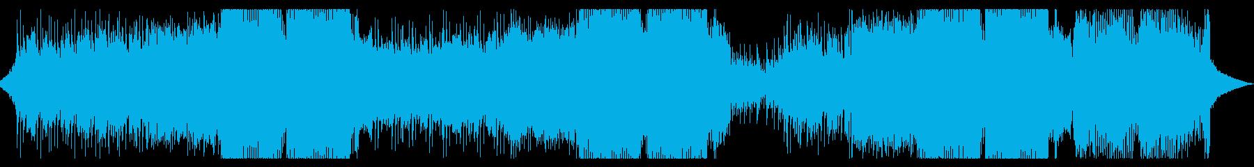 疾走感のあるEDMです。の再生済みの波形