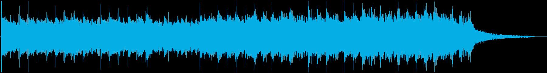 サスペンス ガムランとドラムの再生済みの波形