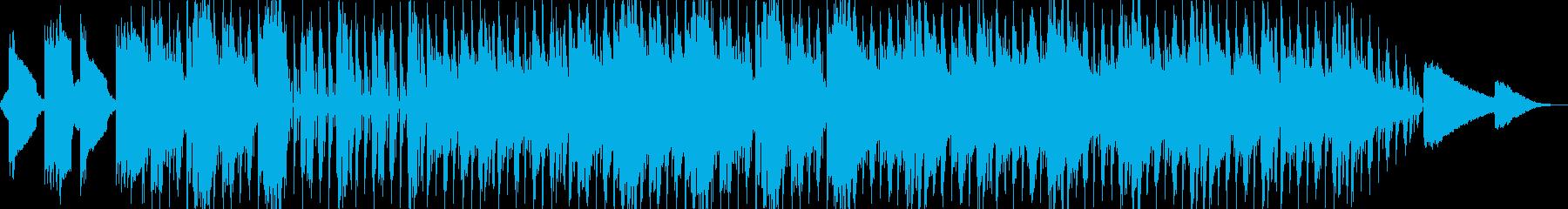 切ないlofihiphopの再生済みの波形