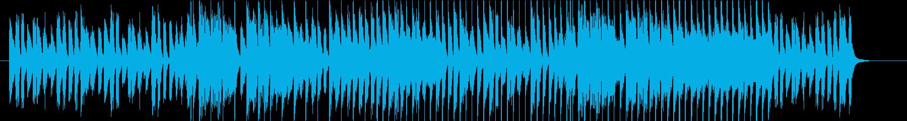 ワクワク可愛いCMの再生済みの波形