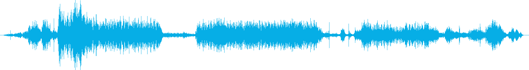 うなり声を上げる大きな犬、2番目の...の再生済みの波形