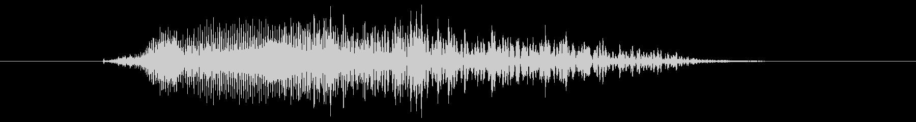 鳴き声 男性コンバットヒットハード17の未再生の波形