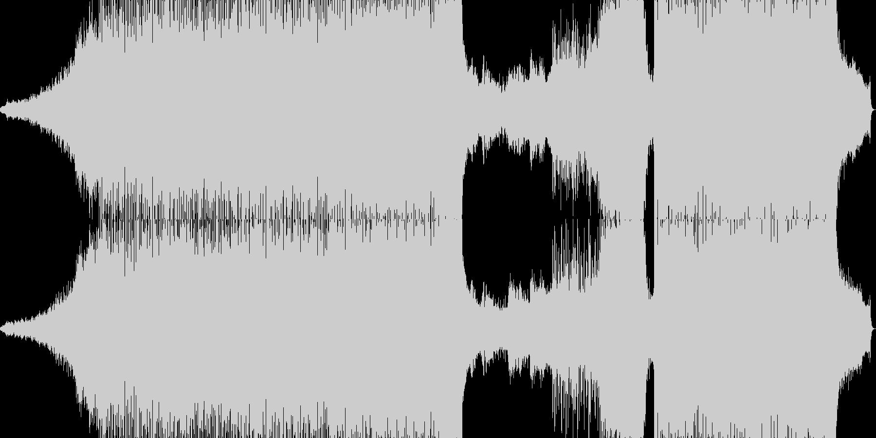 ポップ テクノ ダブステップ アク...の未再生の波形