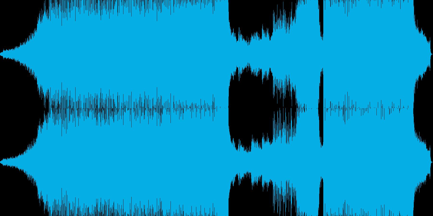 ポップ テクノ ダブステップ アク...の再生済みの波形