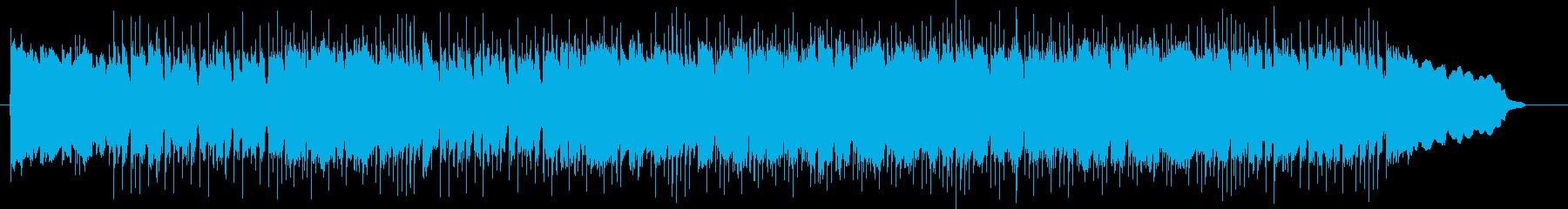 楽しげで勢いのあるドラムギターサウンドの再生済みの波形