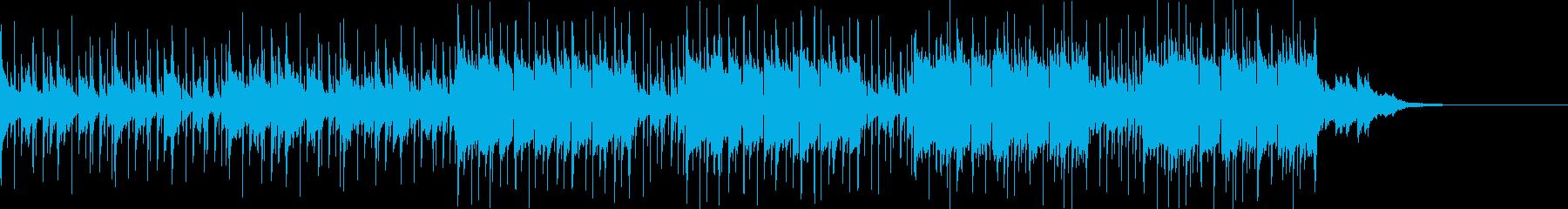 Pf「交易」和風現代ジャズの再生済みの波形