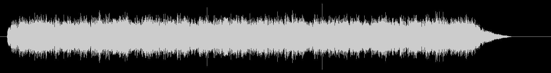 「ダララララ」というスネアのドラムロールの未再生の波形
