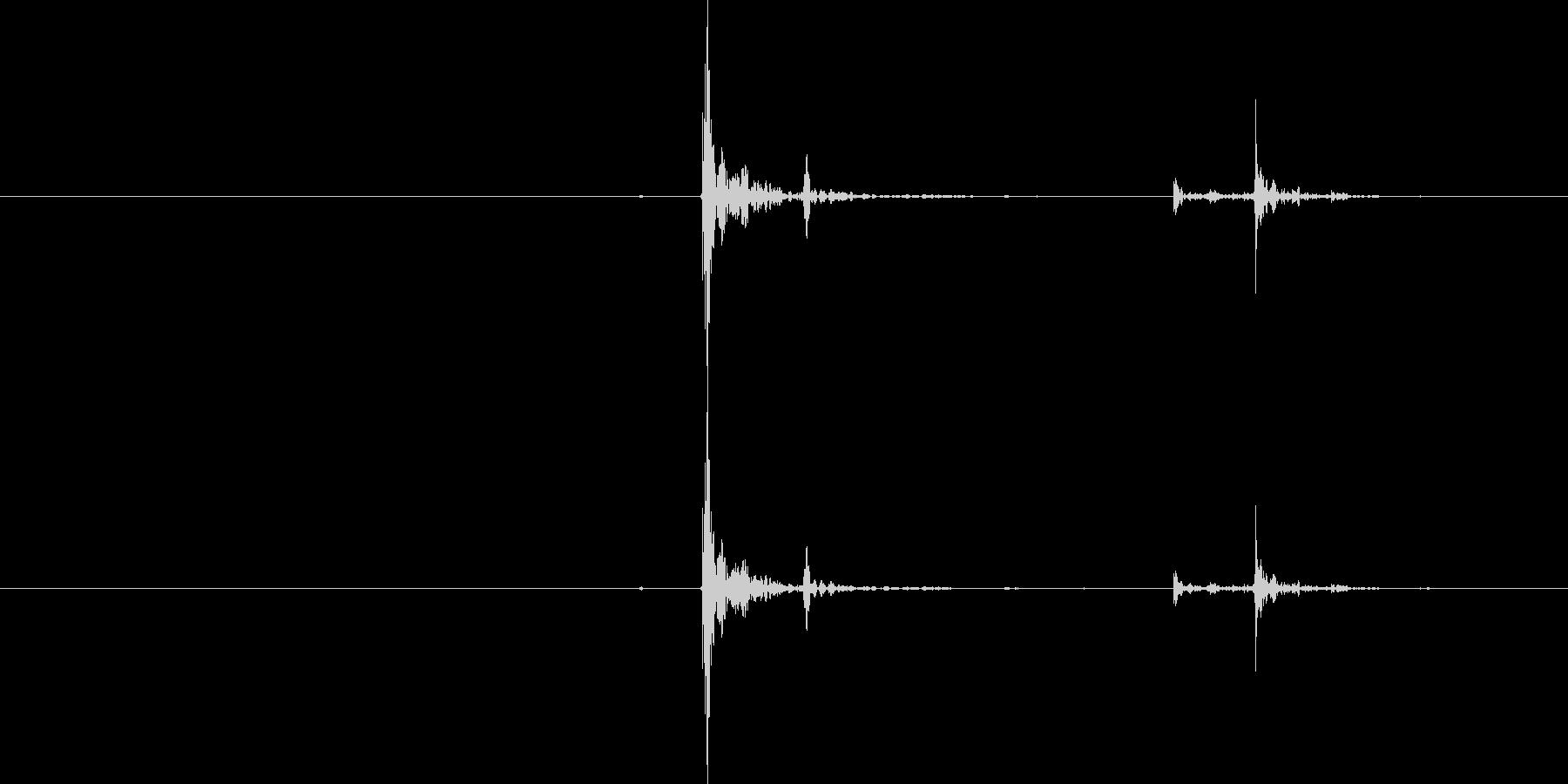 シングルコンストラクションワークブ...の未再生の波形