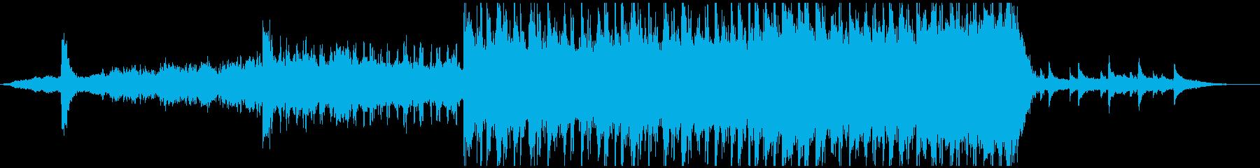現代的 交響曲 アンビエント バト...の再生済みの波形