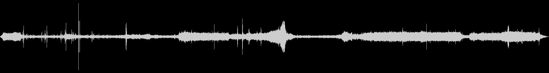 [生録音]電柱設置工事02の未再生の波形