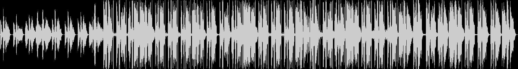 ピアノがおしゃれなHiphopBeatの未再生の波形
