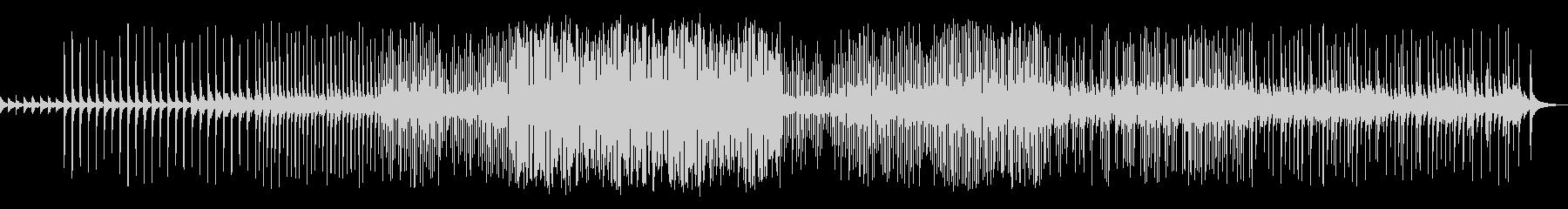 三味線が奏でる和風パッヘルベルのカノンの未再生の波形