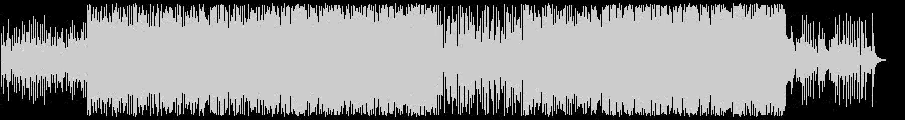 落ち着きのあるギターベースのボサノバの曲の未再生の波形