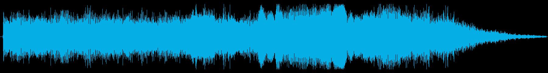 トランジション パッドスイープバズ01の再生済みの波形