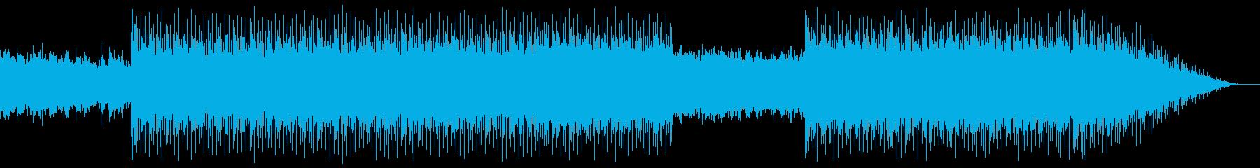 80's 夜の情景 シンセウェーブの再生済みの波形