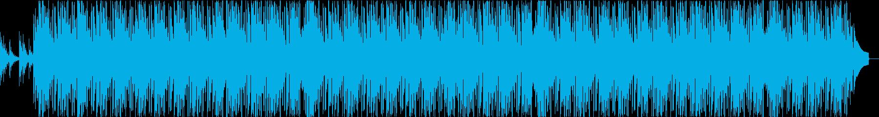 夜に合うジャジーピアノヒップホップビーツの再生済みの波形