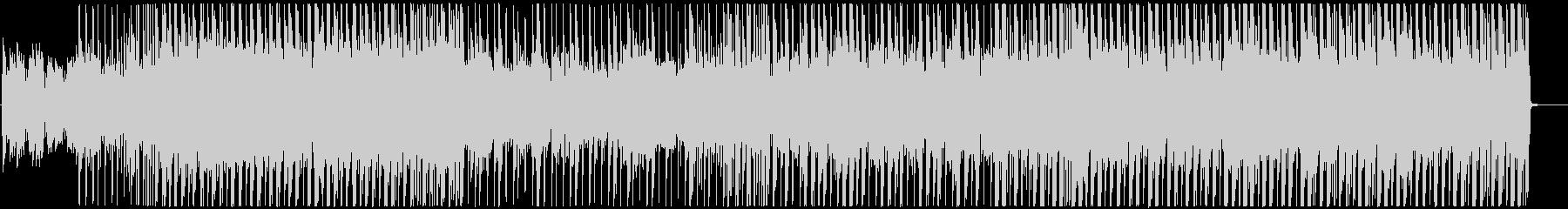 明るいレゲエ調 ガールズK-POPの未再生の波形