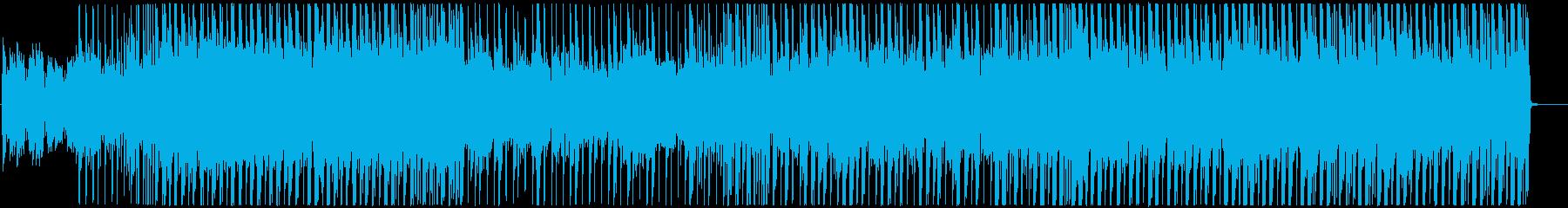 明るいレゲエ調 ガールズK-POPの再生済みの波形