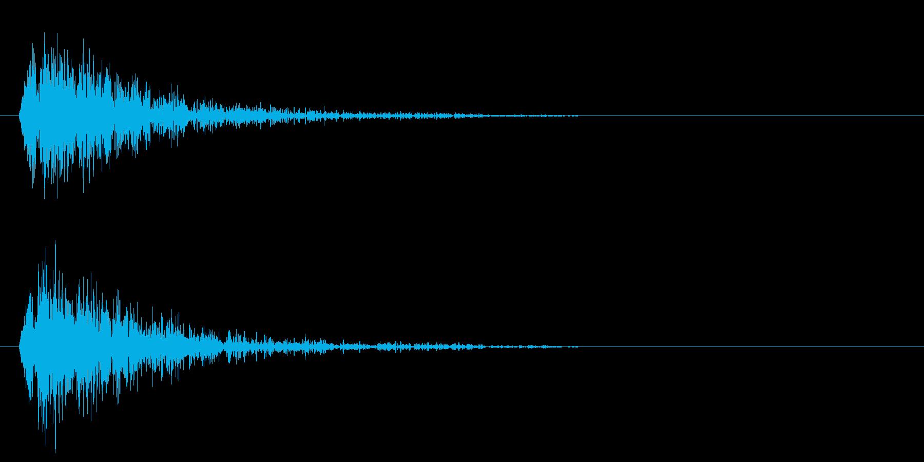 プピャウピャウピャウ(衝撃波)の再生済みの波形