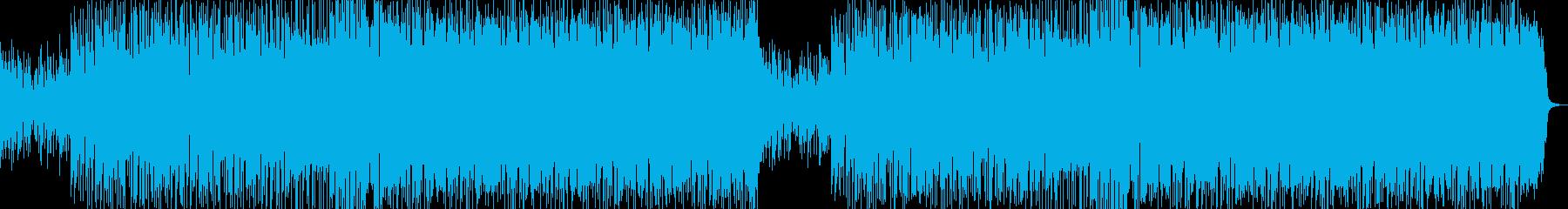 ベルが可愛いfuture bassの再生済みの波形